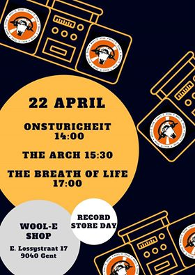 NEWS Record Store Day at Wool-E Shop with exclusive tape and live gigs by The Arch & TBOL