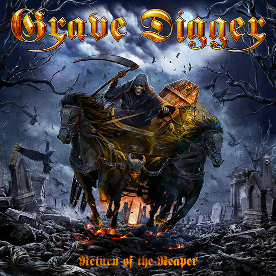 30/06/2014 : GRAVE DIGGER - Return of the Reaper