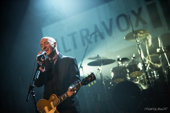 12/10/2012 : ULTRAVOX - Review of the concert at TRIX in Antwerp on 11th October 2012
