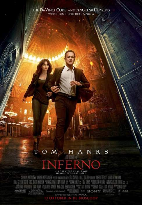 11/12/2016 : RON HOWARD - Inferno