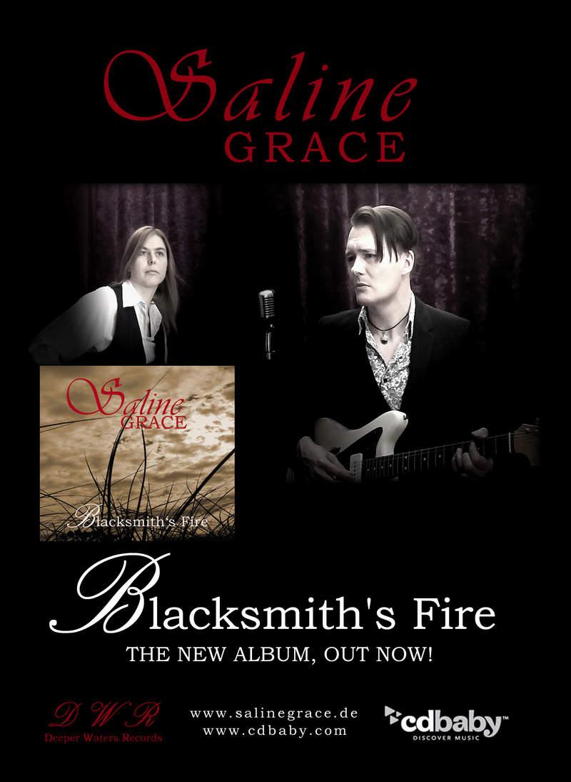 Saline Grace - New album 'Blacksmith's Fire' Out now!
