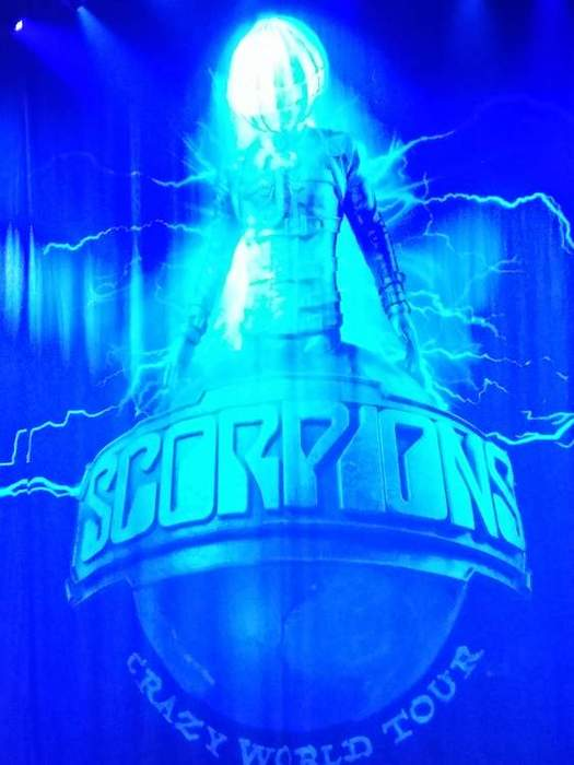 19/04/2018 : SCORPIONS - Live at Vorst Nationaal - Belgium - 04.04.2018