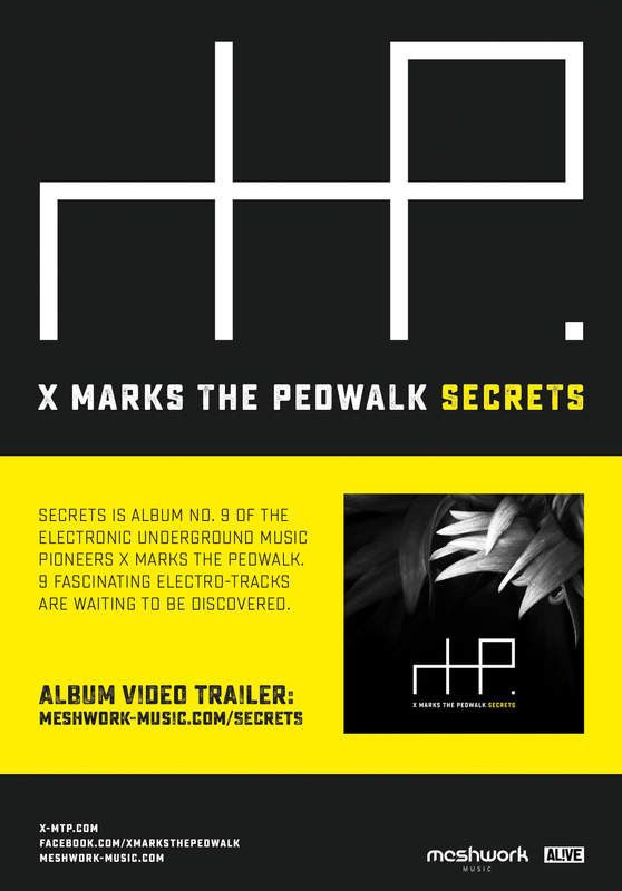 Secrets is Album No. 9 Of The Electronic Underground Music Pioneers X Marks The Pedwalk.