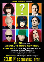 NEWS Simi Nah + Absolute Body Control + EX RZ @ Den Dries - Retie - B
