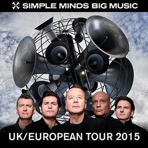 17/11/2015 : SIMPLE MINDS - Antwerp, Lotto Arena (15/11/2015)