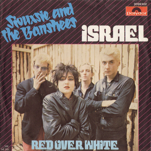NEWS Today it's exactly 40 years since Siouxsie and the Banshees, released their Christmas single 'Israel'!