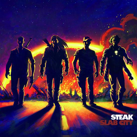 01/09/2014 : STEAK - Slab City