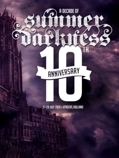 02/08/2012 :  - Review of the Summer Darkness festival (DAY ONE) with Diary of Dreams, Suicide Commando,.. (Utrecht, 27 July 2012)
