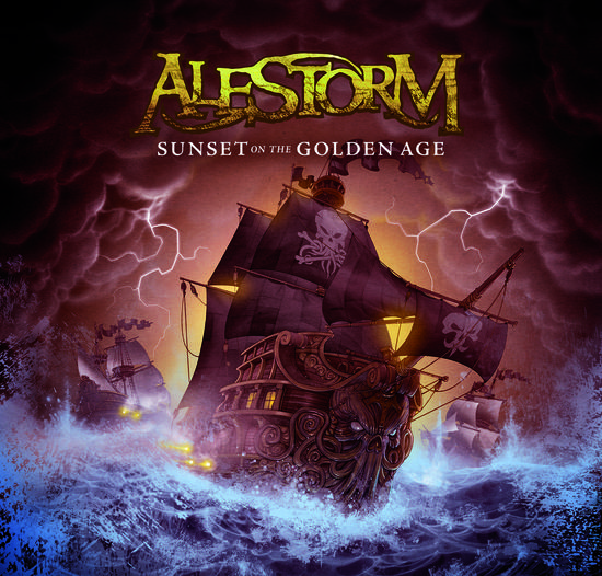 29/07/2014 : ALESTORM - Sunset on the Golden Age