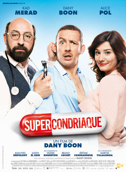 12/11/2014 : DANY BOON - Supercondriaque