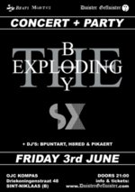 09/06/2011 : THE EXPLODING BOY - SX   SINT NIKLAAS, KOMPAS   03/06/2011   Now that's what I call post-punk!