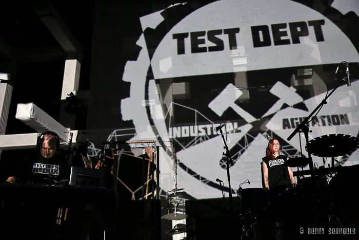 photoshoot TEST DEPT: REDUX Maschinenfest 2k16, Turbinenhalle, Oberhausen, Germany