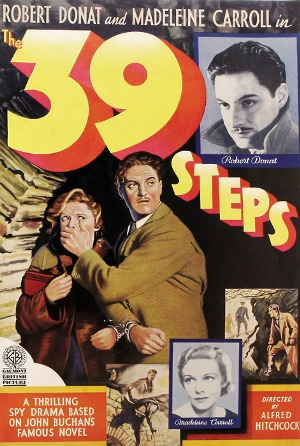 05/12/2014 : ALFRED HITCHCOCK - The 39 Steps