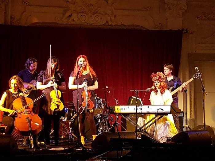 10/12/2016 : THE ANCHORESS + FIONA BRICE - London, Bush Hall (15/06/2016)