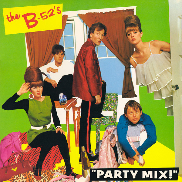 NEWS 40 years of Party Mix! by The B52's