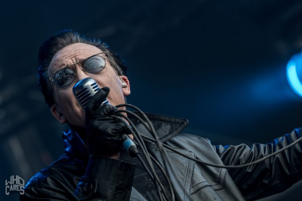photoshoot THE DAMNED Lokerse Feesten
