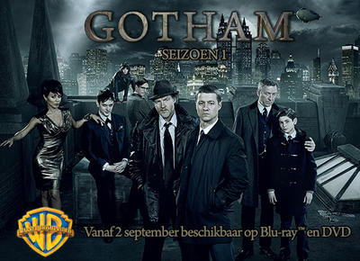 NEWS The first season of GOTHAM out on 2nd September