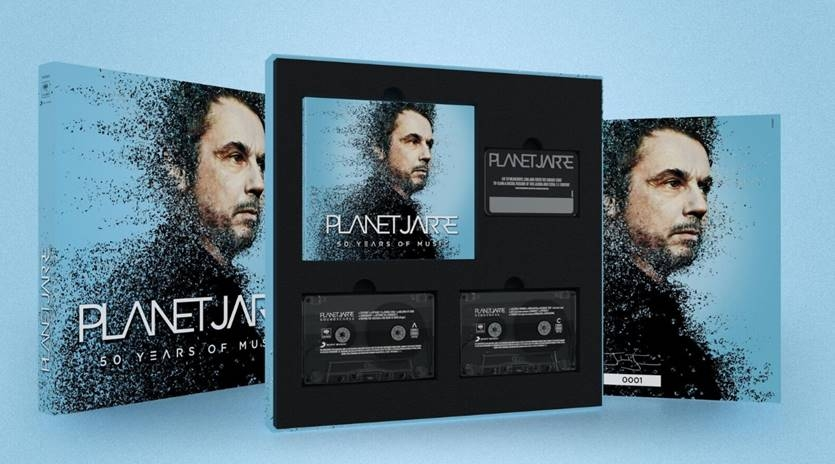 NEWS The Godfather of Electronic Music JEAN-MICHEL JARRE (JMJ) releases his 41-track best-of PLANET JARRE!