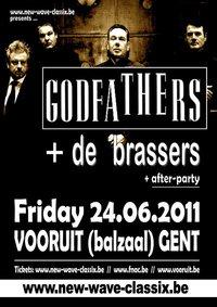 26/06/2011 : THE GODFATHERS - Support De Brassers | Gent, Vooruit | 24/06/2011