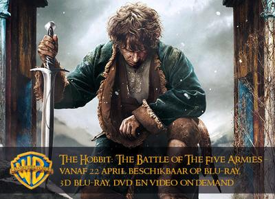 NEWS The Hobbit: The Battle of the Five Armies on 22nd April on BR and DVD