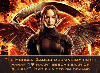 NEWS The Hunger Games: Mockingjay Part 1 out on 19th March