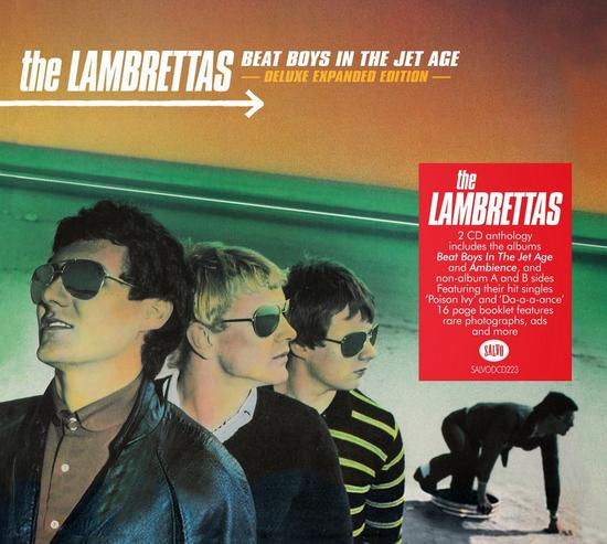 05/03/2015 : THE LAMBRETTAS - Beat Boys In The Jet Age Redux: