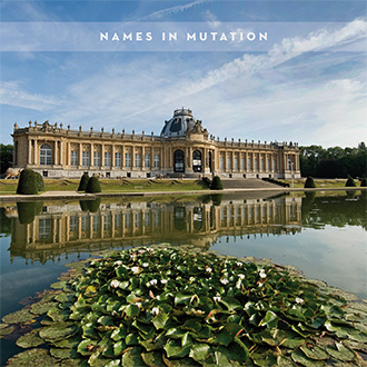 09/12/2016 : THE NAMES - Names In Mutation