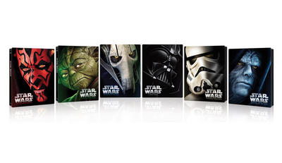 NEWS The Star Wars-saga in limited edition blu-raysteelbooks