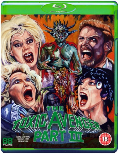 NEWS The Toxic Avenger is back in action with 88 Films