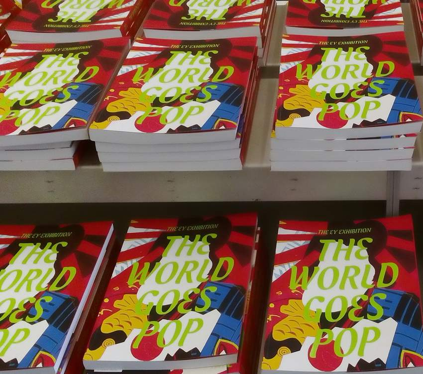 20/12/2015 : THE WORLD GOES POP - London, Tate Modern (until/tot 24/1/2016)