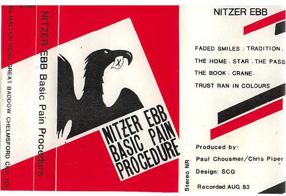 NEWS This month, 35 years ago, Nitzer Ebb recorded their first demo Basic Pain Procedure!