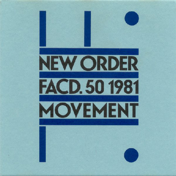 NEWS Today, 37 years ago, New Order released its debut album Movement!