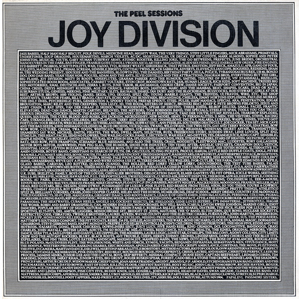 NEWS Today, exactly 39 years ago, John Peel broadcast the first Peel Sessions, performed by Joy Division
