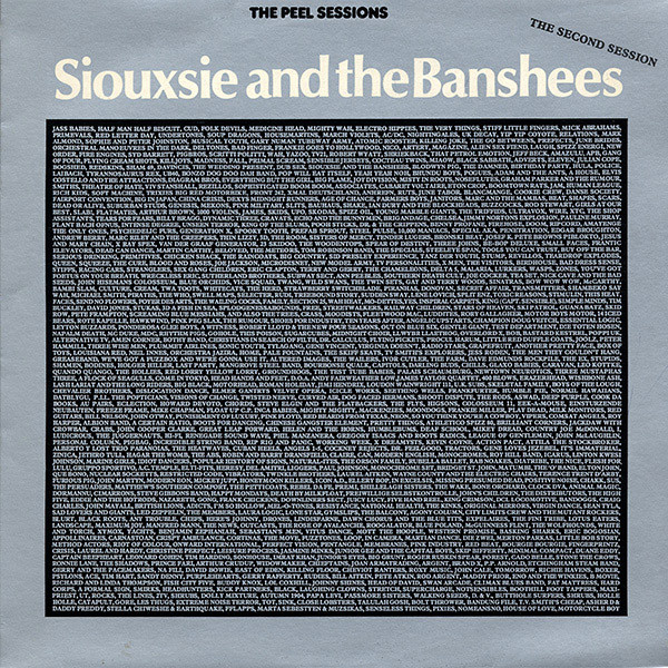 NEWS Today, it's exactly 40 years ago that renowned BBC DJ John Peel broadcast the second John Peel session by Siouxsie & The Banshees