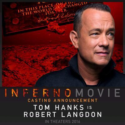 NEWS Tom Hanks & Felicity Jones in Inferno
