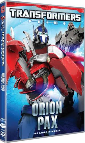 26/08/2014 :  - Transformers Prime - Orion Pax Season 2 Vol.1