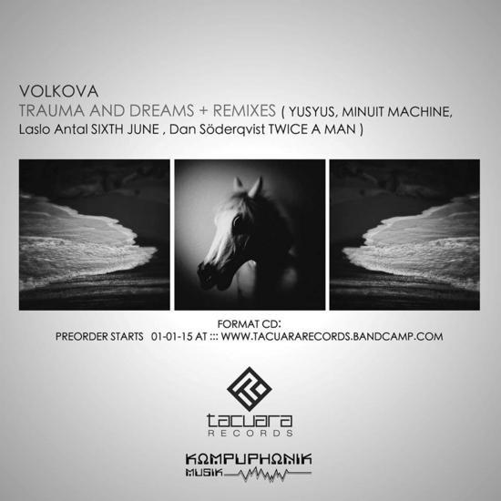 20/01/2015 : VOLKOVA - Trauma And Dreams + Remixes