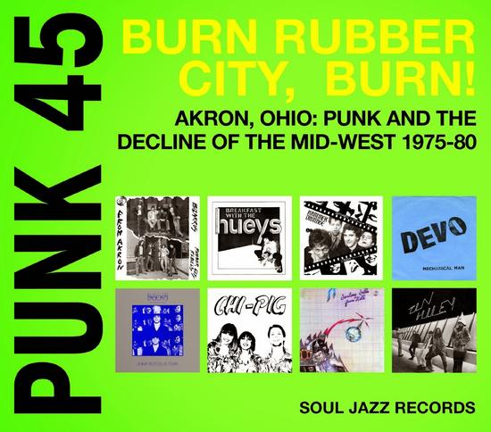 13/03/2015 : VARIOUS ARTISTS - Burn Rubber City Burn: Extermination Nights In The Sixth City: