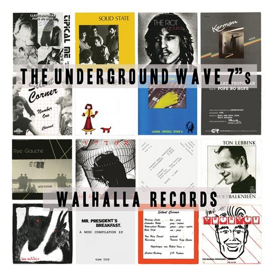 """29/09/2015 : VARIOUS ARTISTS - The Underground Wave 7""""s"""