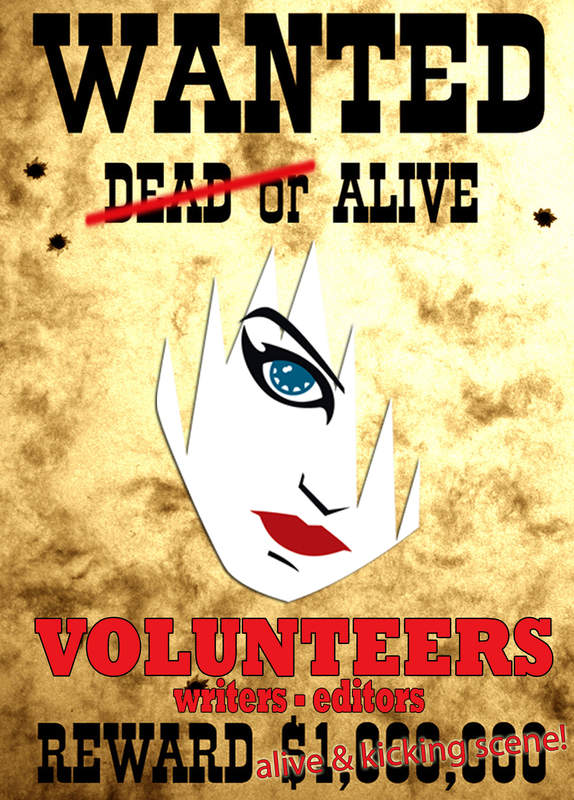 Volunteers wanted - writers, editors,...