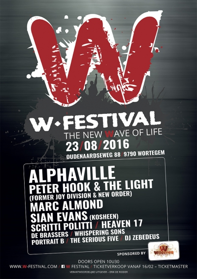 11/12/2016 : W-FESTIVAL - Wortegem-Petegem (23/08/2016)