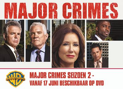 NEWS Warner releases the second season from Major Crimes