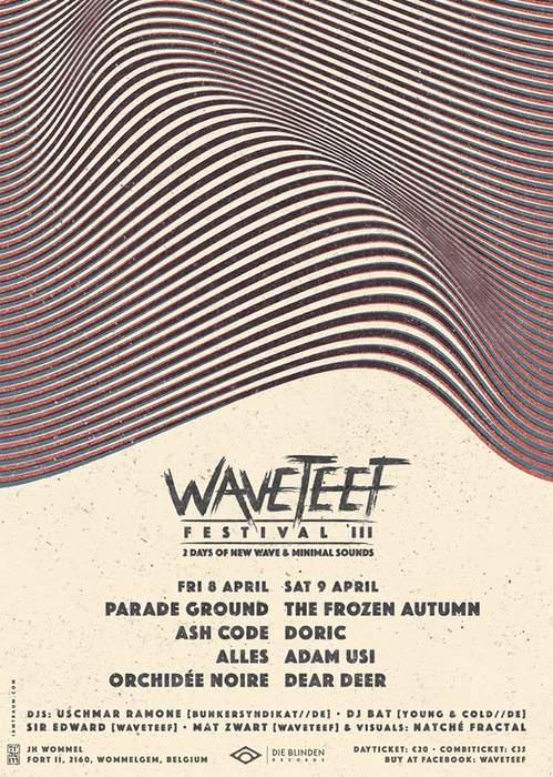 09/12/2016 : WAVETEEF - Wommelgem, 8-9 April 2016