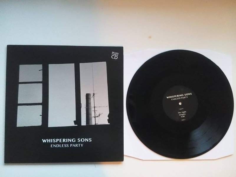 NEWS Whispering Sons on vinyl and CD