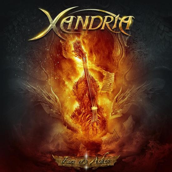 05/08/2015 : XANDRIA - Fire And Ashes EP