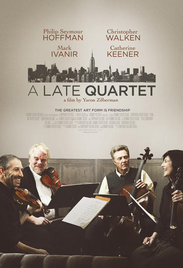 29/08/2015 : YARON ZILBERMAN - A Late Quartet