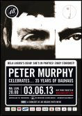 Peter Murphy celebrates 35 years of Bauhaus