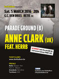 ANNE CLARK + PARADE GROUND