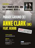 ANNE CLARK + PARADE GROUND