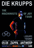Die Krupps - The Machinists Of Joy Tour
